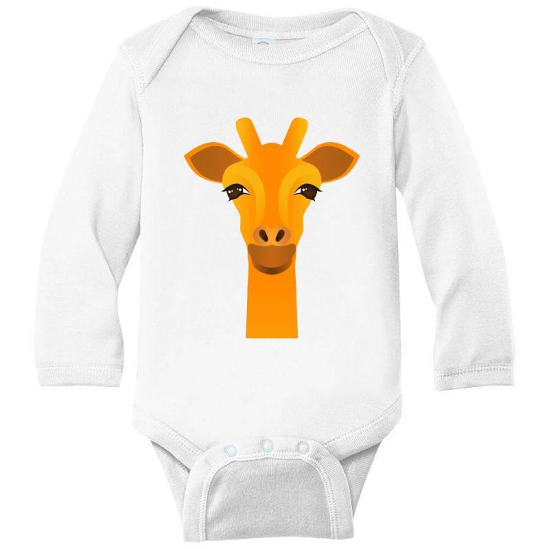 Giraffe Drawing Long Sleeve Baby Bodysuit | Artistshot