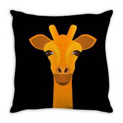 Giraffe drawing Throw Pillow | Artistshot
