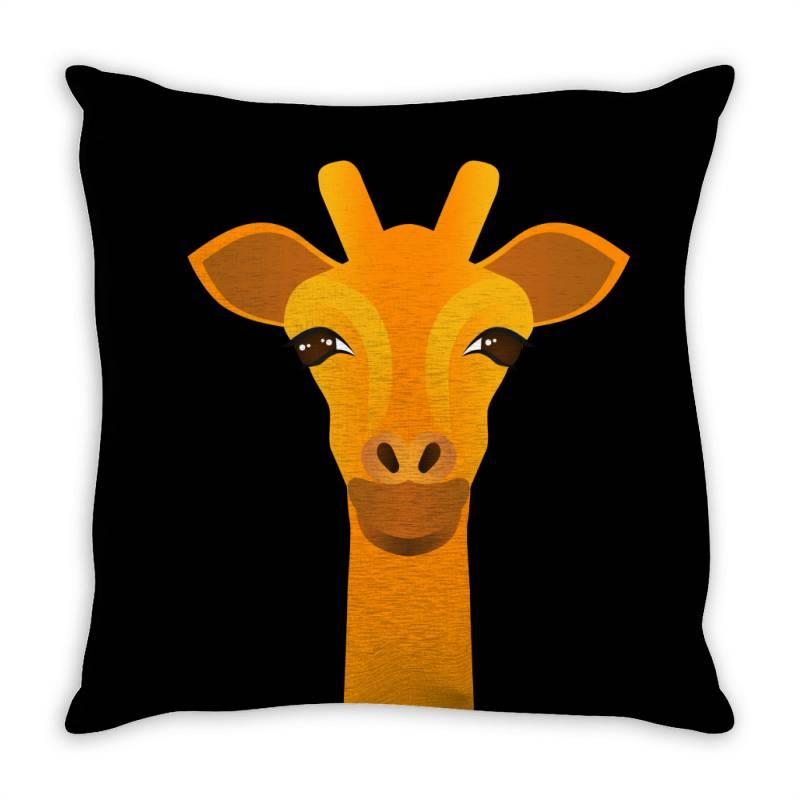 Giraffe Drawing Throw Pillow   Artistshot