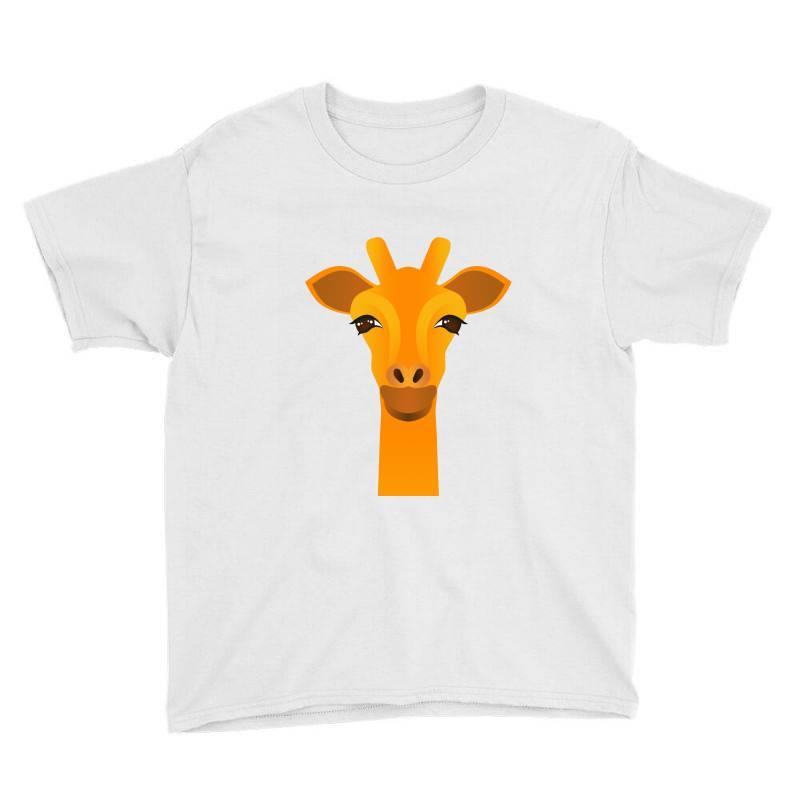 Giraffe Drawing Youth Tee | Artistshot