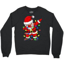 dabbing santa claus christmas Crewneck Sweatshirt   Artistshot