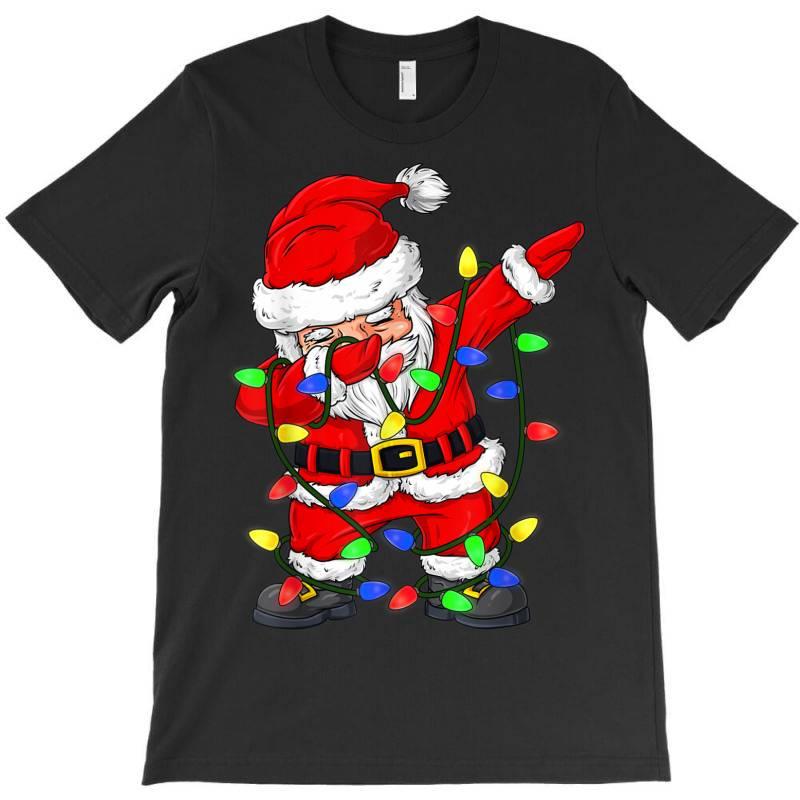 Dabbing Santa Claus Christmas T-shirt   Artistshot