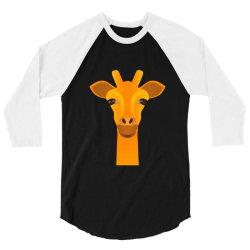 Giraffe drawing 3/4 Sleeve Shirt   Artistshot