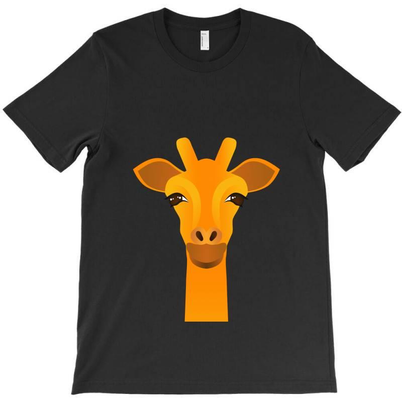 Giraffe Drawing T-shirt   Artistshot