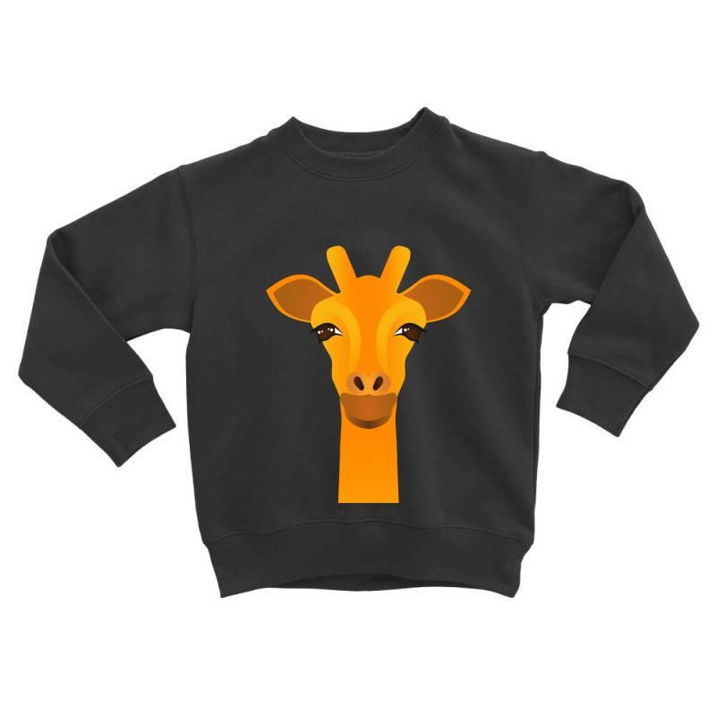 Giraffe Drawing Toddler Sweatshirt | Artistshot