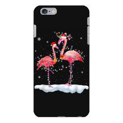 flamingo christmas tree santa hat xmas iPhone 6 Plus/6s Plus Case | Artistshot