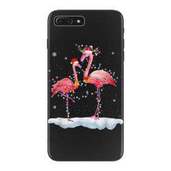 flamingo christmas tree santa hat xmas iPhone 7 Plus Case | Artistshot
