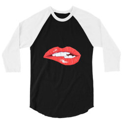 Sexy Lips 3/4 Sleeve Shirt | Artistshot