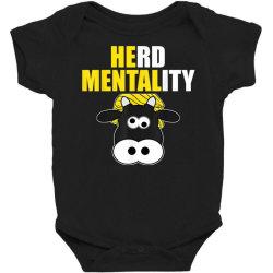 herd mentality Baby Bodysuit   Artistshot