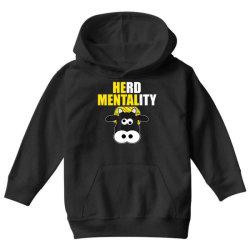 herd mentality Youth Hoodie   Artistshot
