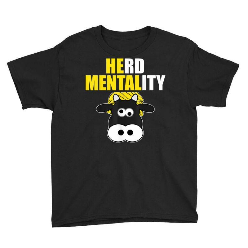 Herd Mentality Youth Tee   Artistshot