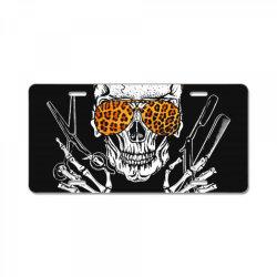 I'll Cut You Skull License Plate | Artistshot