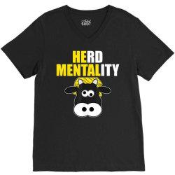 herd mentality V-Neck Tee | Artistshot