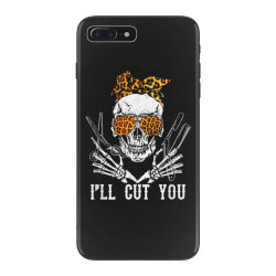 I'll Cut You Skull iPhone 7 Plus Case | Artistshot