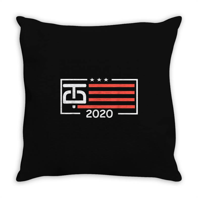 Donal Trump Keep America Great 2020 Throw Pillow | Artistshot