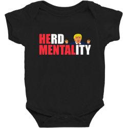 herd mentality Baby Bodysuit | Artistshot