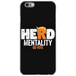 herd mentality go vote orange iPhone 6/6s Case | Artistshot