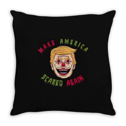 make america scared again Throw Pillow | Artistshot