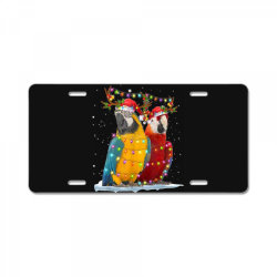 parrot reindeer xmas light christmas License Plate | Artistshot
