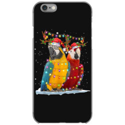 parrot reindeer xmas light christmas iPhone 6/6s Case | Artistshot
