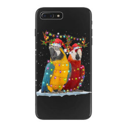 parrot reindeer xmas light christmas iPhone 7 Plus Case | Artistshot
