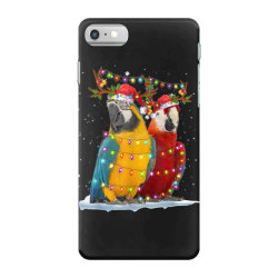 parrot reindeer xmas light christmas iPhone 7 Case | Artistshot