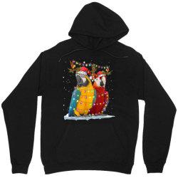 parrot reindeer xmas light christmas Unisex Hoodie   Artistshot
