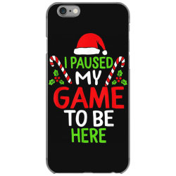 paused my game to be here christmas iPhone 6/6s Case | Artistshot