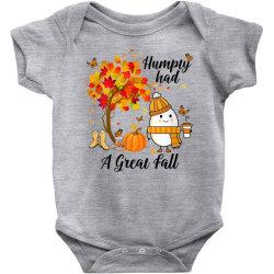 Humpty Had A Great Fall Funny Autumn Baby Bodysuit | Artistshot