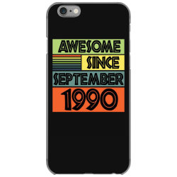 awesome since september 1990 iPhone 6/6s Case | Artistshot