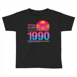 vintage september 1990 limited edition Toddler T-shirt | Artistshot