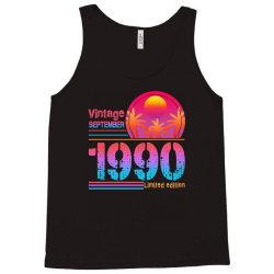 vintage september 1990 limited edition Tank Top | Artistshot