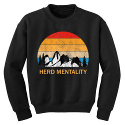 trump quoted herd mentality Youth Sweatshirt | Artistshot