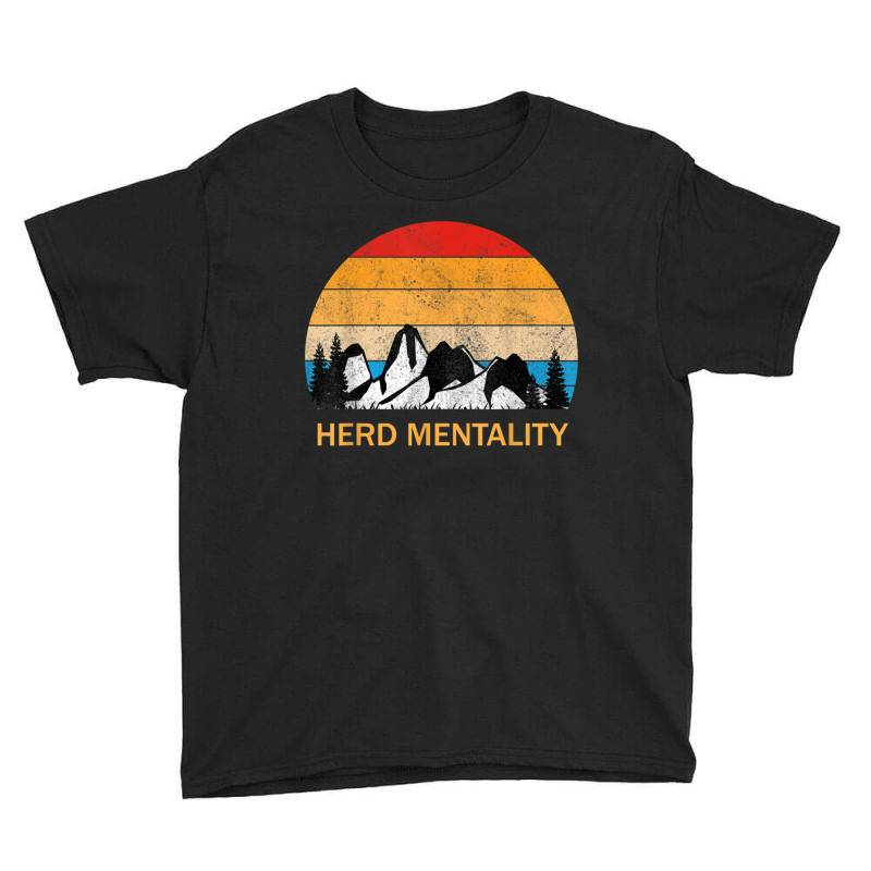 Trump Quoted Herd Mentality Youth Tee | Artistshot