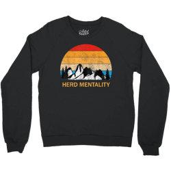 trump quoted herd mentality Crewneck Sweatshirt | Artistshot