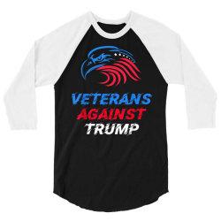 veterans against trump 2020 3/4 Sleeve Shirt | Artistshot