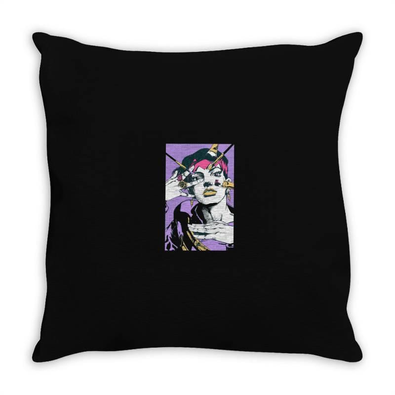 Girl Throw Pillow | Artistshot