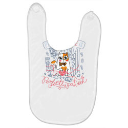 Perfect Love is Perfectly Patient Baby Bibs | Artistshot