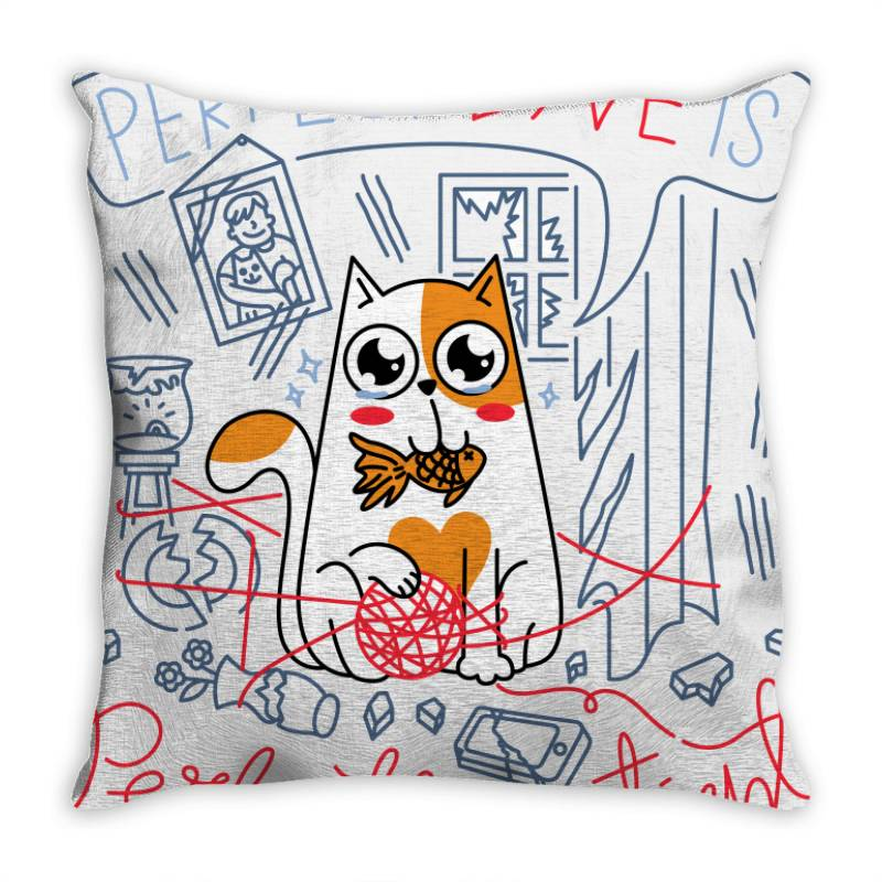 Perfect Love Is Perfectly Patient Throw Pillow   Artistshot