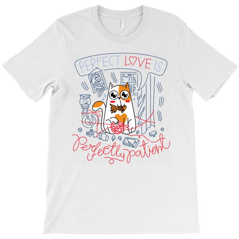 Perfect Love Is Perfectly Patient T-shirt   Artistshot