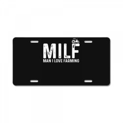 man i love farming License Plate | Artistshot