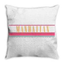 manhattan Throw Pillow   Artistshot