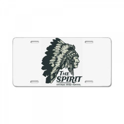 natural born hunter License Plate | Artistshot