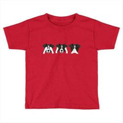 3 Monkeys Toddler T-shirt | Artistshot