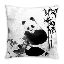 panda Throw Pillow | Artistshot