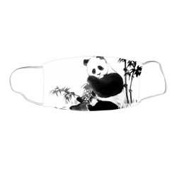 panda Face Mask Rectangle | Artistshot