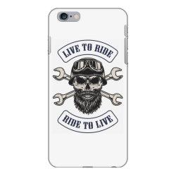 Live to ride, Motorcycles, Skull iPhone 6 Plus/6s Plus Case | Artistshot