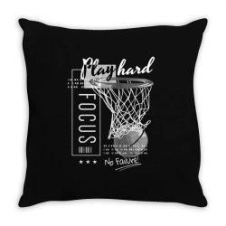 basketball Throw Pillow | Artistshot