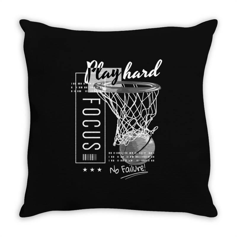 Basketball Throw Pillow   Artistshot