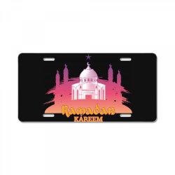 Ramadan kareem, Muslim, Islam License Plate | Artistshot